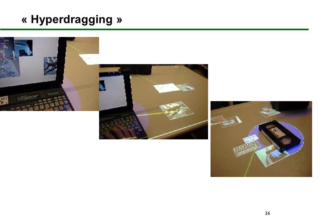 16 « Hyperdragging »
