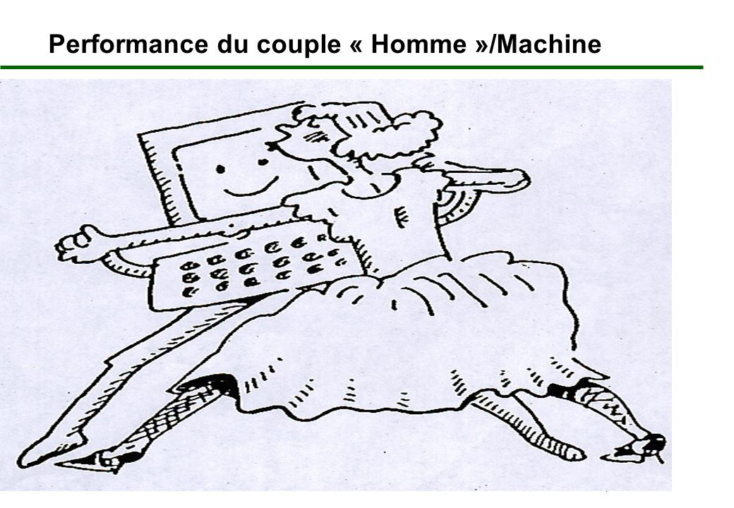 7 Performance du couple « Homme »/Machine