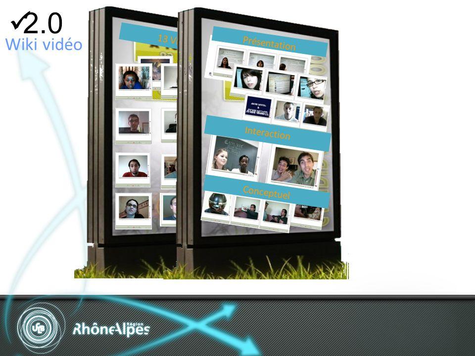 2.0 He 13 Vidéos2 Wiki vidéo Présentation Interaction Conceptuel