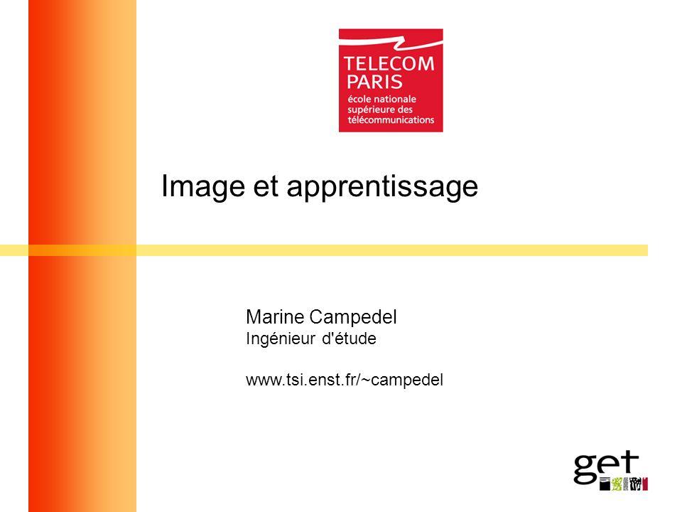 Image et apprentissage Marine Campedel Ingénieur d'étude www.tsi.enst.fr/~campedel