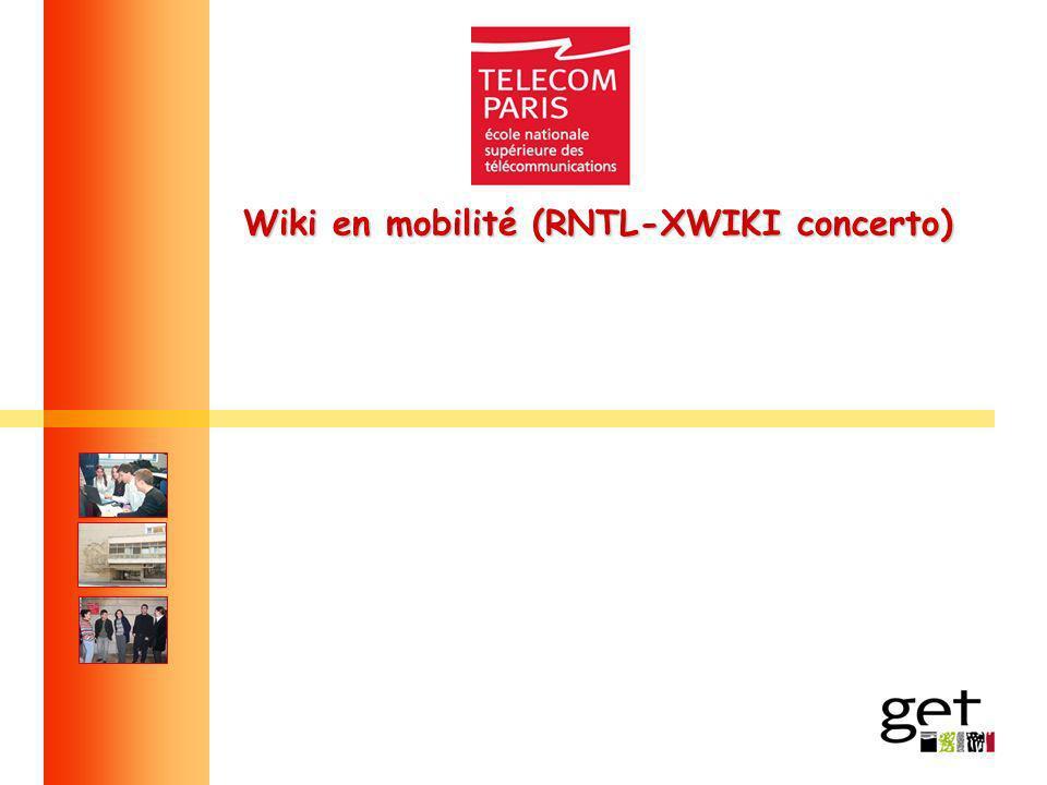 Wiki en mobilité (RNTL-XWIKI concerto)