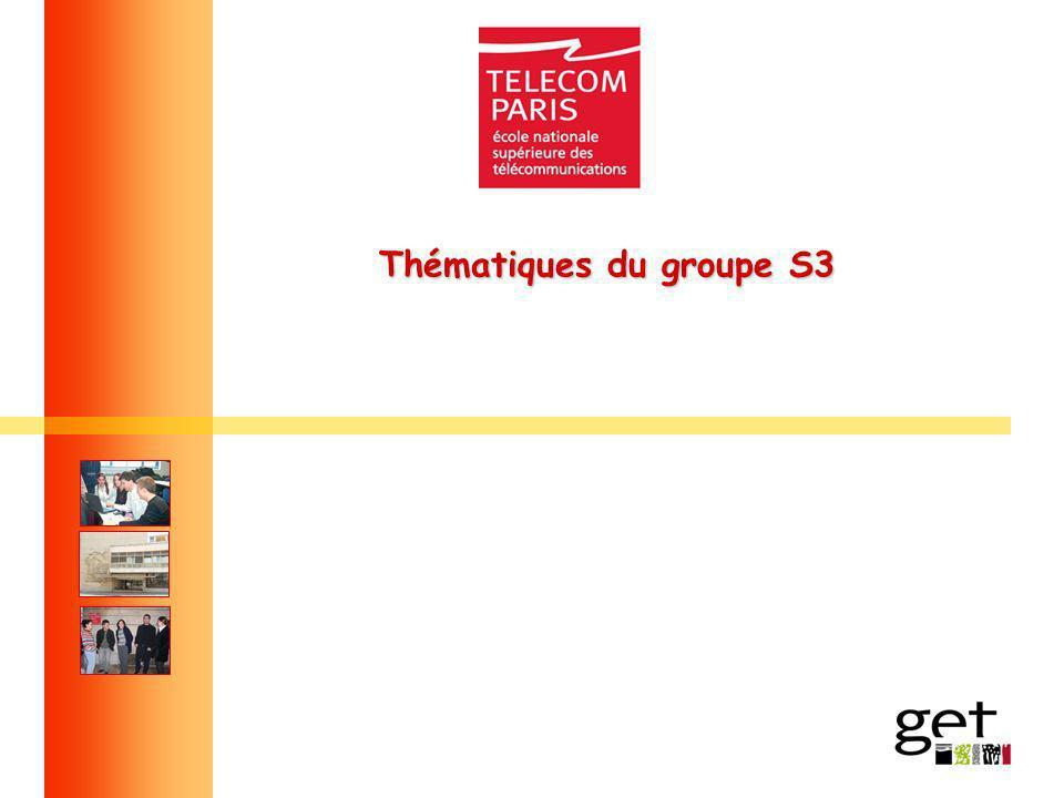 Thématiques du groupe S3