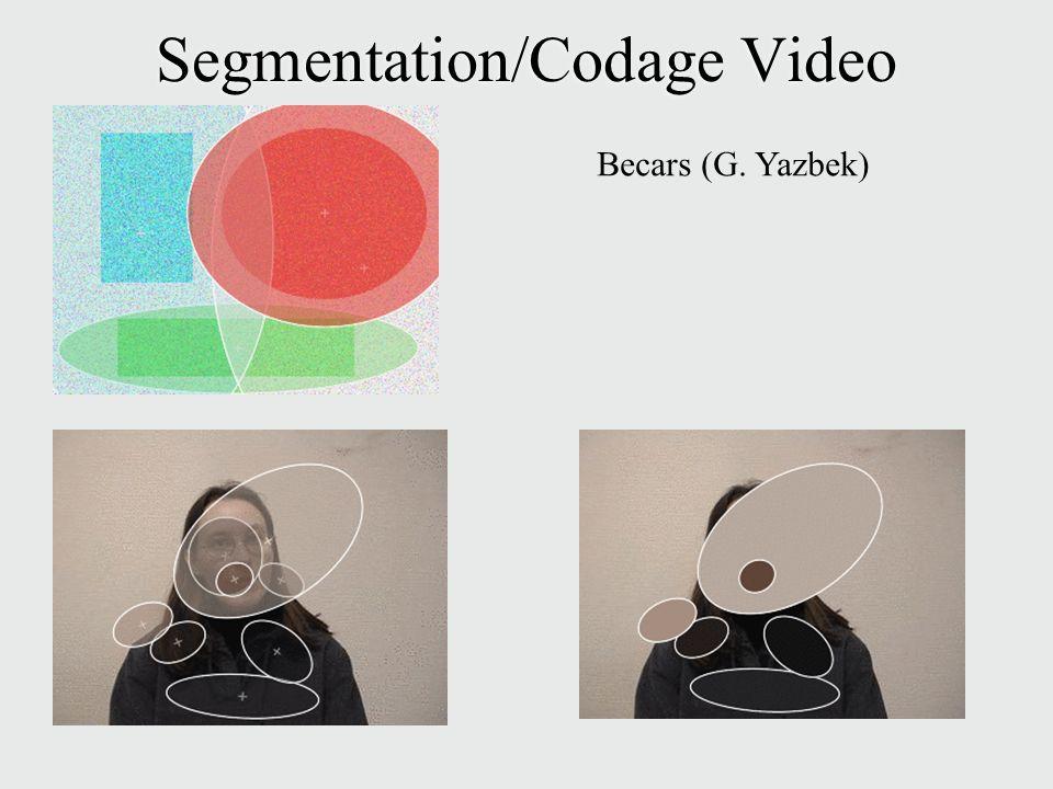 Segmentation/Codage Video Becars (G. Yazbek)