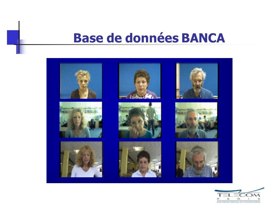 Base de données BANCA