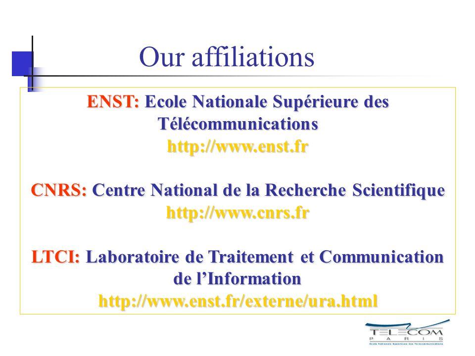 What is ENST.Ecole Nationale de Télécommunications classed among the Grandes Ecoles d Ingénieurs.