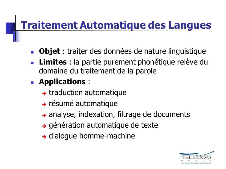 Modélisation HMM : topologie utilisée 1 2 3 4 5 a 22 a 33 a 44 a 12 a 23 a 34 a 25 3 états émetteurs Modèle de langage : unigrammes, facteur de langage.