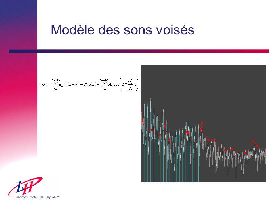 Modèle des sons voisés