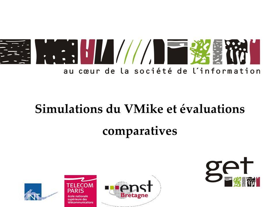Simulations du VMike et évaluations comparatives