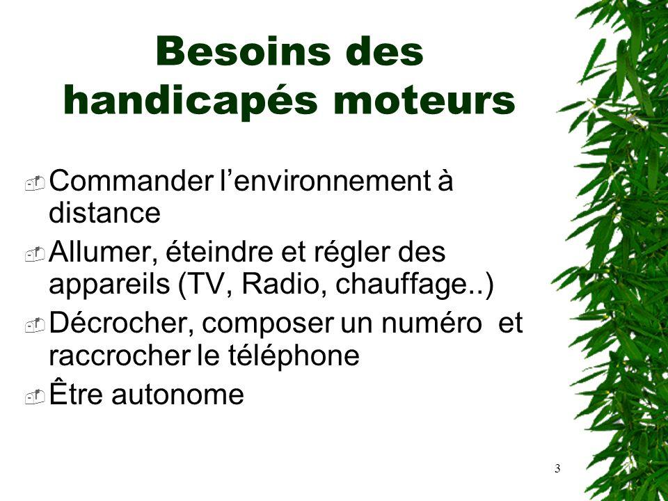 14 Reconnaissance automatique de la parole Modules de reconnaissance indépendante du locuteur et adapté à la voix du maître.