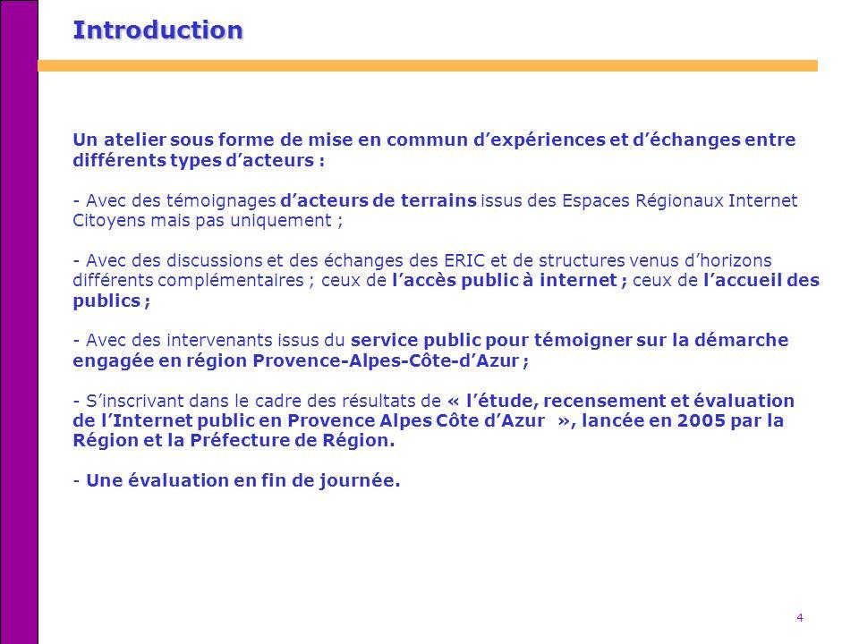 5 Lexpérience de laction 13 du PASER PACA Intervenants : Serge Davin, directeur adjoint et Léopold Carbonnel, inspecteur, DRASS PACA.