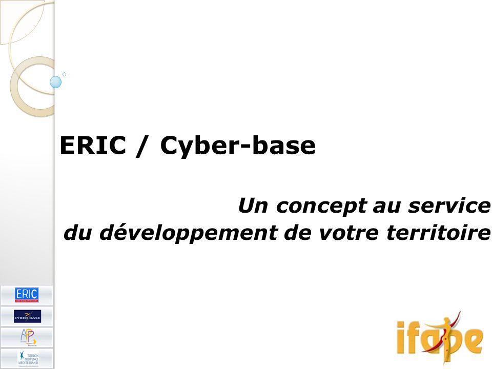 ERIC / Cyber-base Un concept au service du développement de votre territoire
