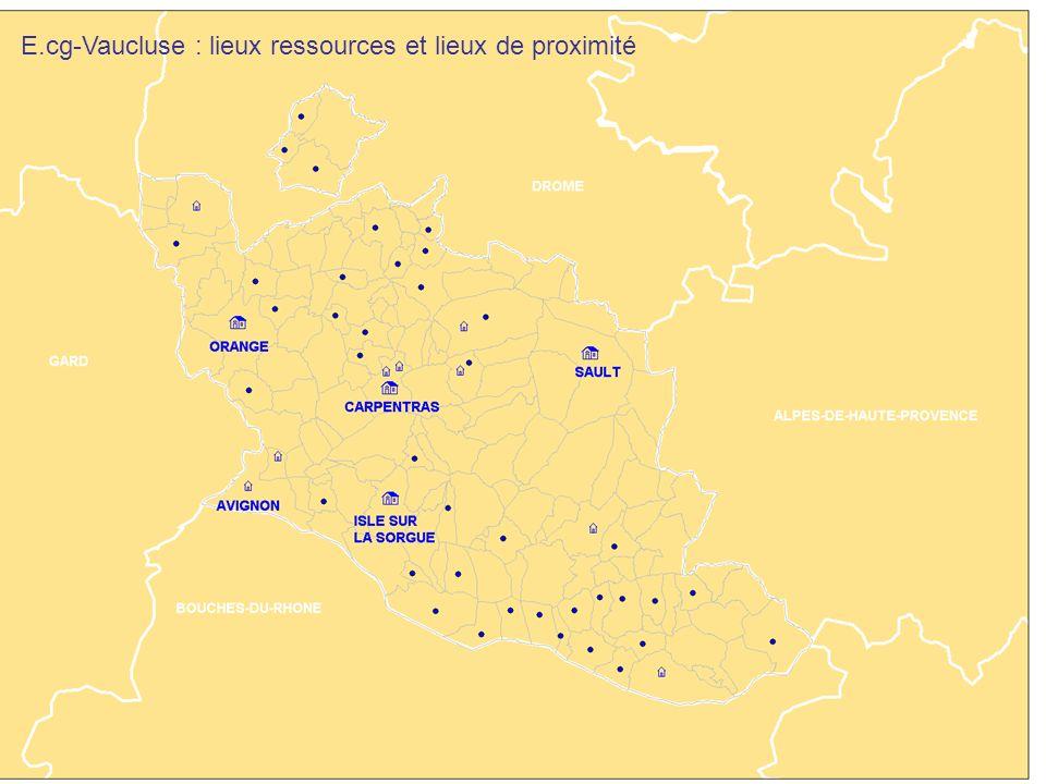 E.cg-Vaucluse : lieux ressources et lieux de proximité