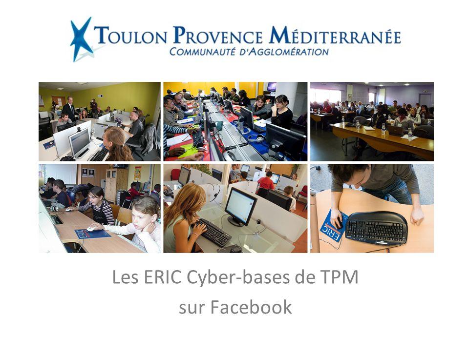 Les ERIC Cyber-bases de TPM sur Facebook