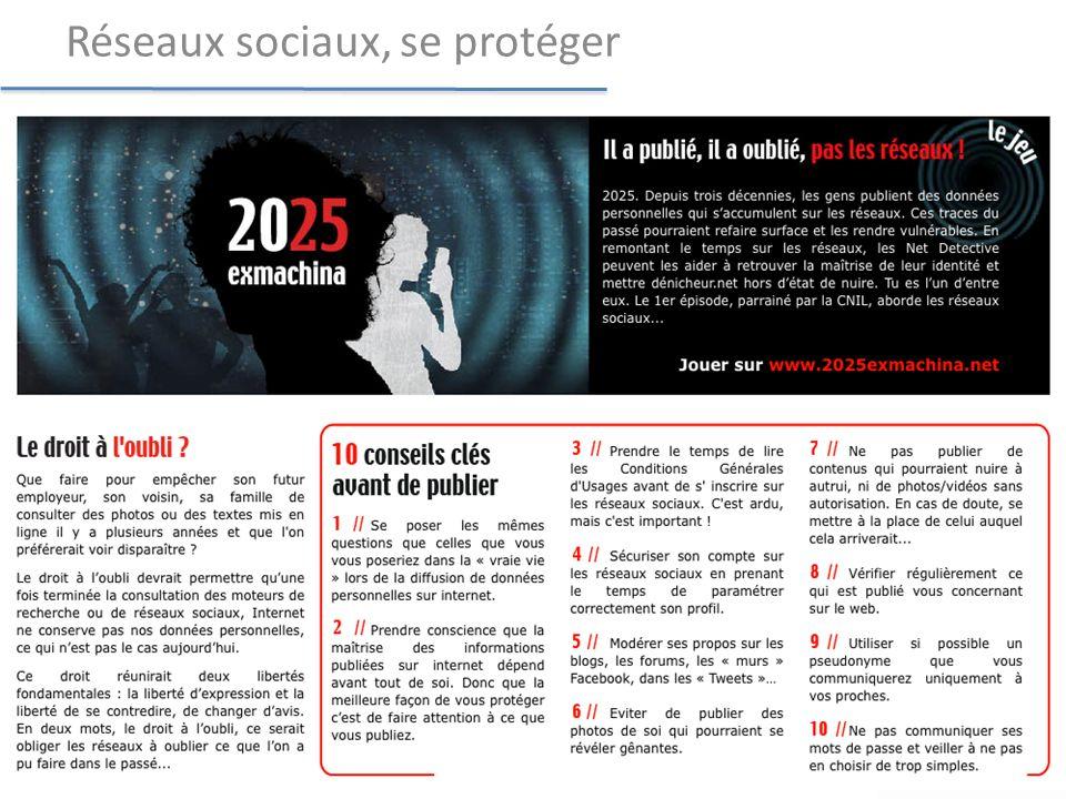 www.2025exmachina.net Réseaux sociaux, se protéger