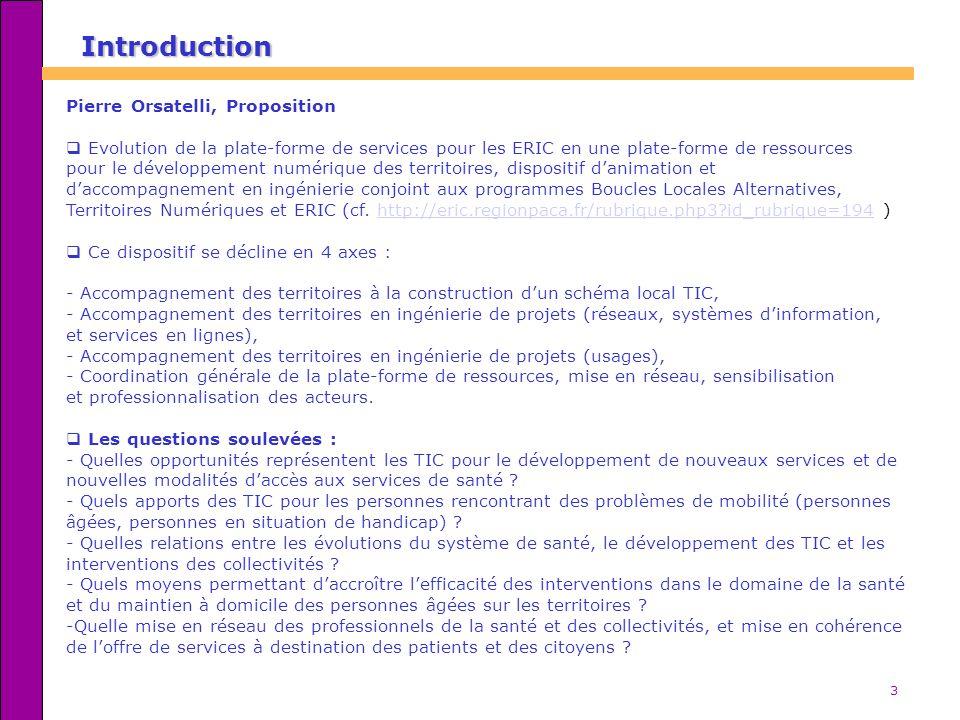 3 Pierre Orsatelli, Proposition Evolution de la plate-forme de services pour les ERIC en une plate-forme de ressources pour le développement numérique