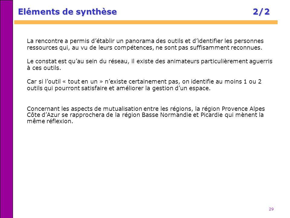 29 Concernant les aspects de mutualisation entre les régions, la région Provence Alpes Côte dAzur se rapprochera de la région Basse Normandie et Picar