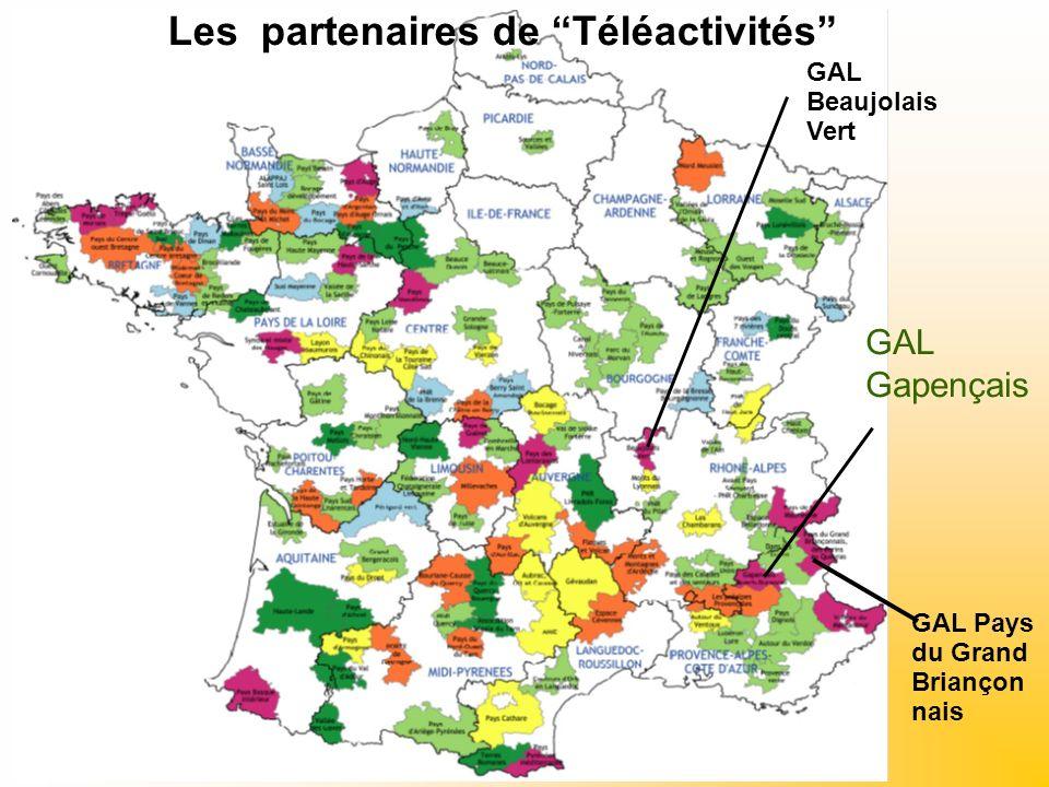 GAL Gapençais Les partenaires de Téléactivités GAL Pays du Grand Briançon nais GAL Beaujolais Vert