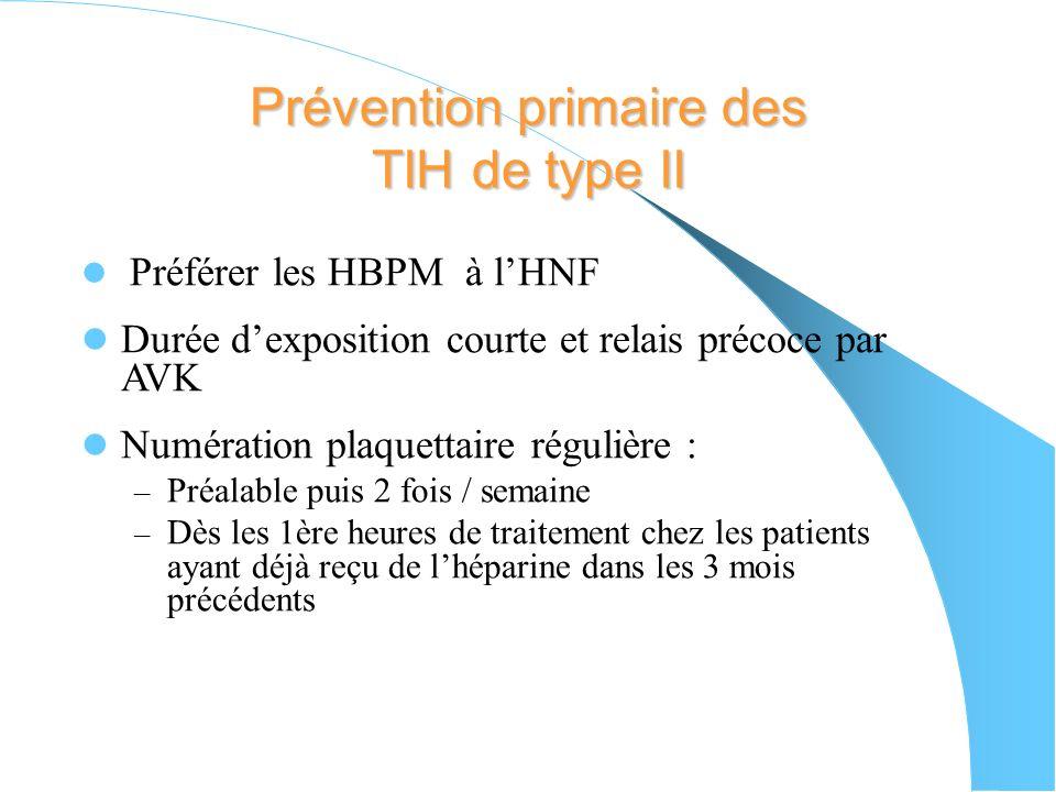 Suivi Thérapeutique - Numération plaquettaire quotidienne - Surveillance de lactivité anti Xa Effectuée dans le laboratoire sur le STA – R : lecture d