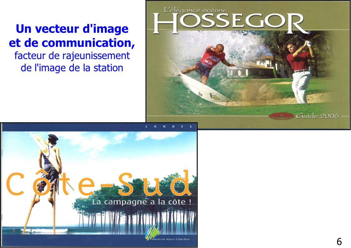 6 Un vecteur d'image et de communication, facteur de rajeunissement de l'image de la station