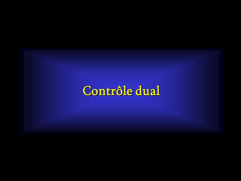 Contrôle dual