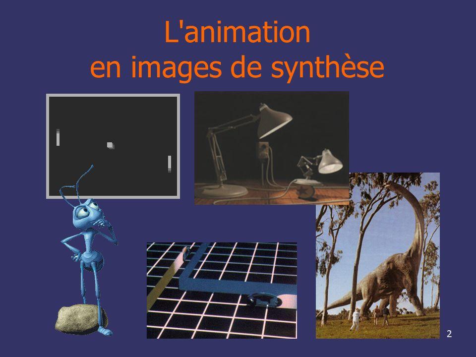 2 L'animation en images de synthèse