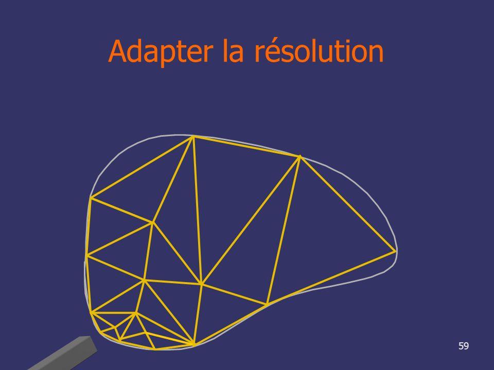 59 Adapter la résolution