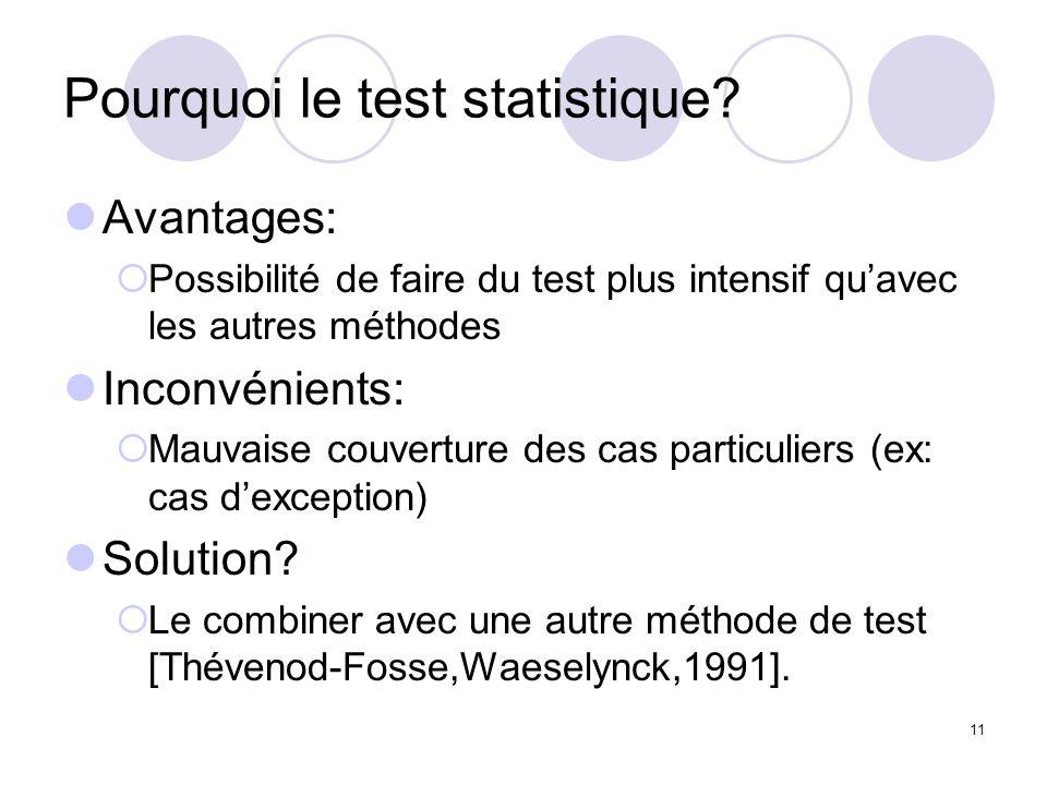11 Pourquoi le test statistique.