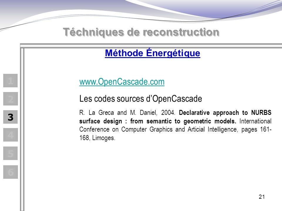 21 www.OpenCascade.com Les codes sources dOpenCascade R.