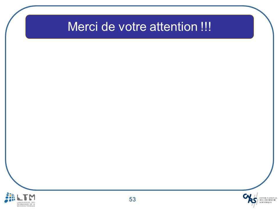 53 Merci de votre attention !!!