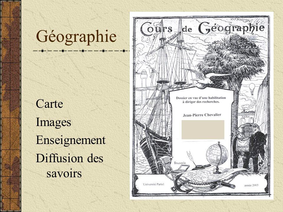 Géographie Carte Images Enseignement Diffusion des savoirs