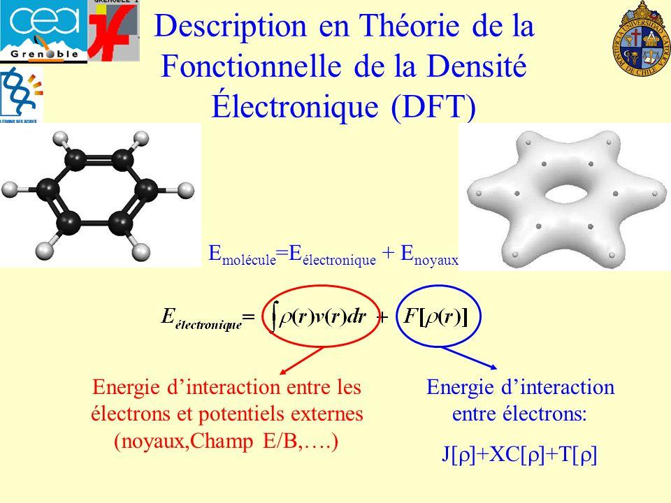 Contrôle Frontalier/Charge Réaction sous contrôle de Charge : Réaction sous contrôle Frontalier : E electrostatique >> E covalent E covalent >> E electrostatique Indice local : la densité électronique : (r) Indice local : la fonction de Fukui :