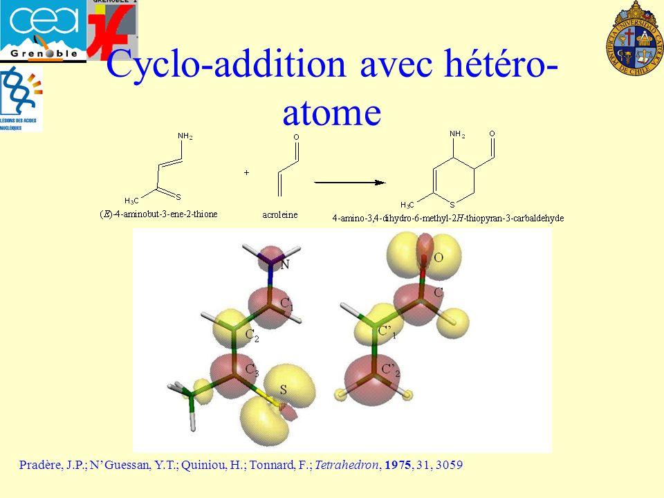 Cyclo-addition avec hétéro- atome Pradère, J.P.; NGuessan, Y.T.; Quiniou, H.; Tonnard, F.; Tetrahedron, 1975, 31, 3059