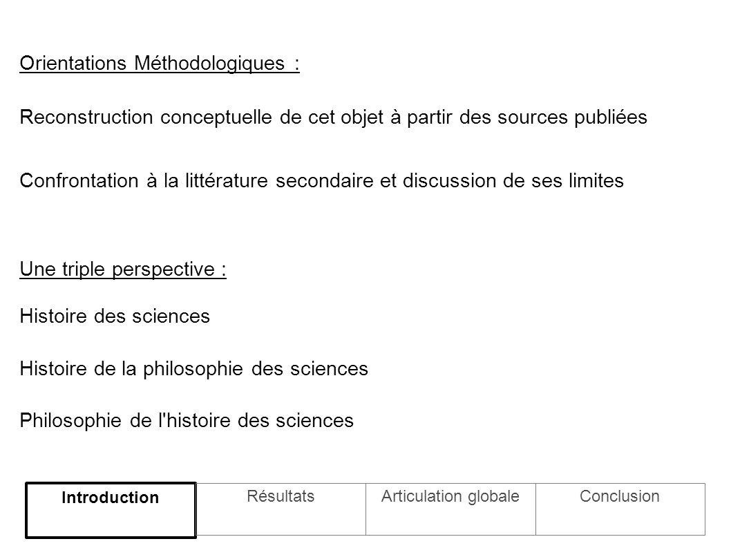 Un thème sous-jacent : unité et scission Haldane : Pluralité et autonomie relative des champs d activité vs.