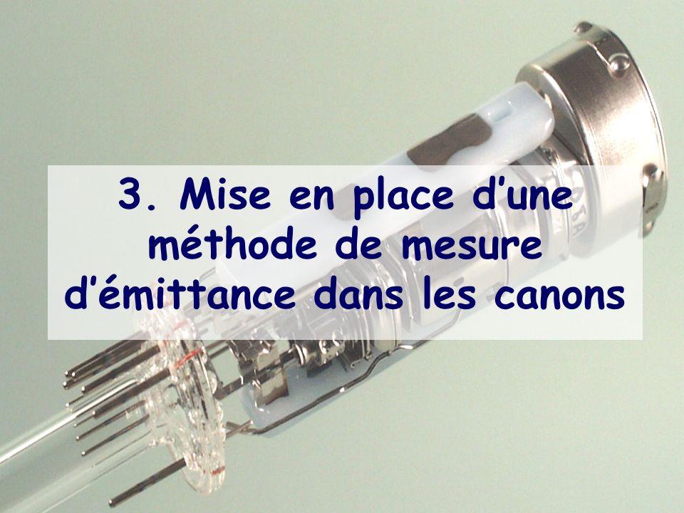 28 3. Mise en place dune méthode de mesure démittance dans les canons