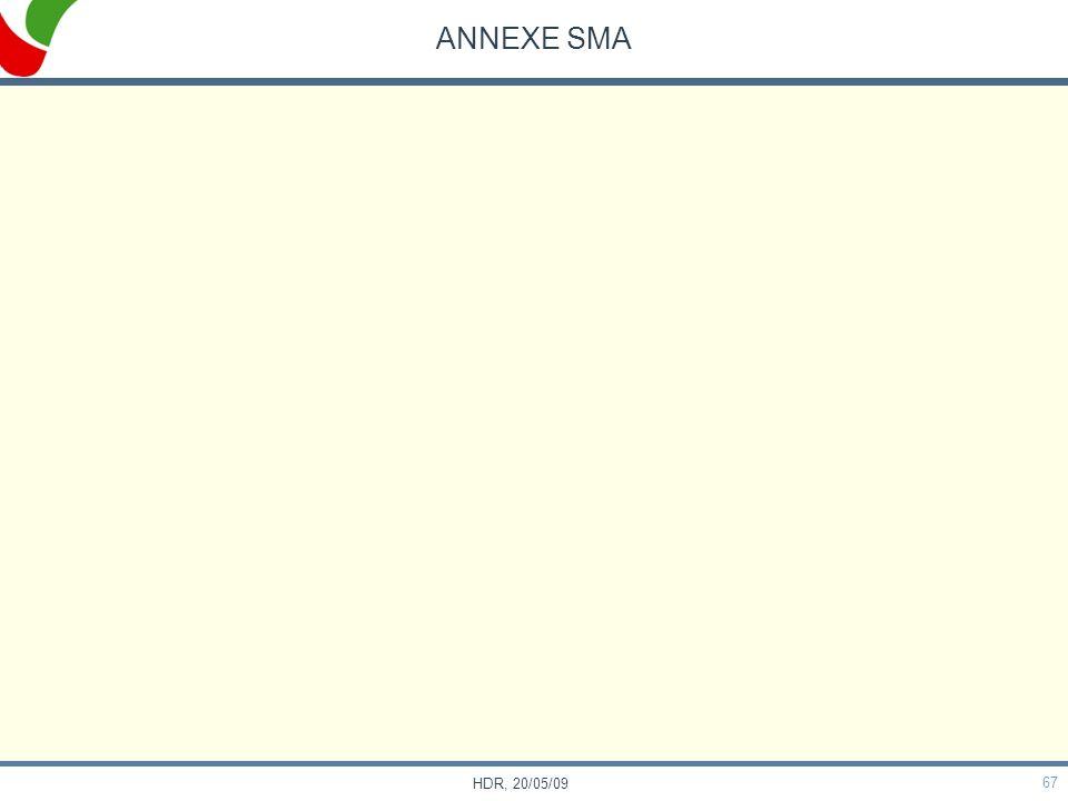 67 HDR, 20/05/09 ANNEXE SMA
