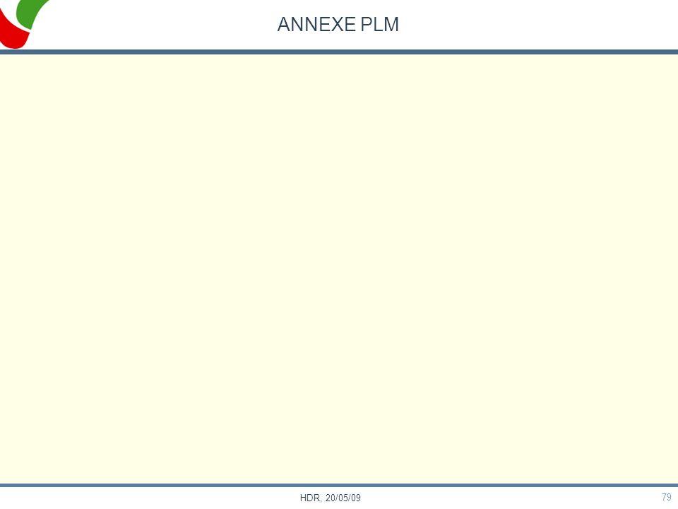 79 HDR, 20/05/09 ANNEXE PLM