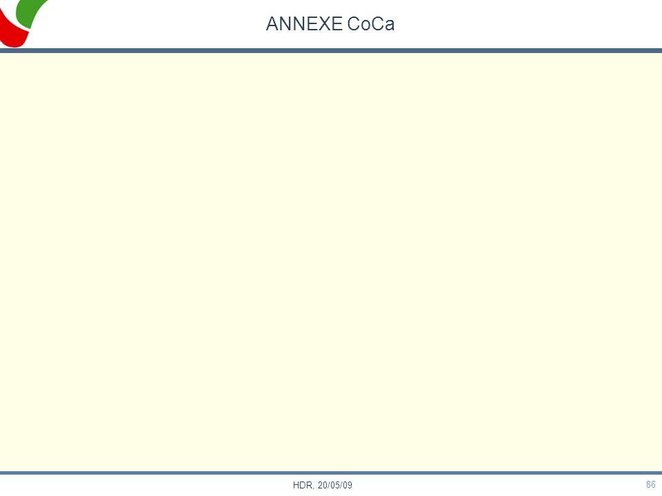 86 HDR, 20/05/09 ANNEXE CoCa