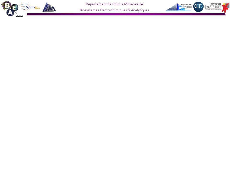 Département de Chimie Moléculaire Biosystèmes Électrochimiques & Analytiques