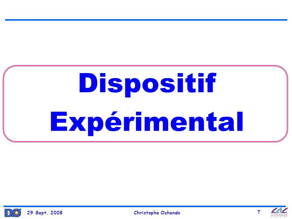 29 Sept. 2008Christophe Ochando 58 Higgs & SUSY (2)