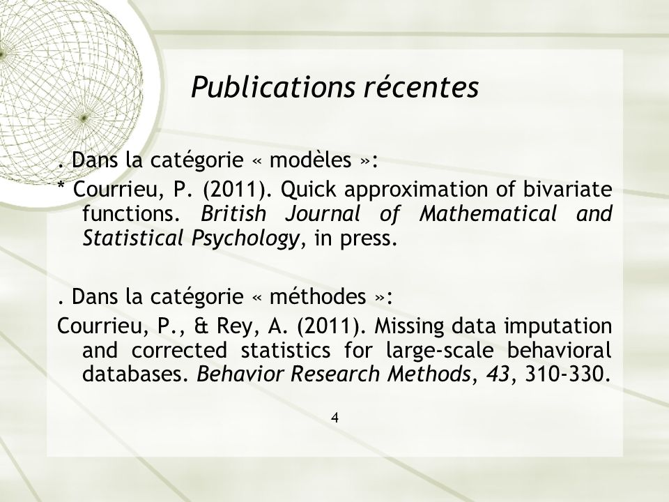 Courrieu, Brand-dAbrescia, Peereman, Spieler, & Rey (2011) Validated intraclass correlation statistics to test item performance models Behavior Research Methods, 43(1), 37-55.