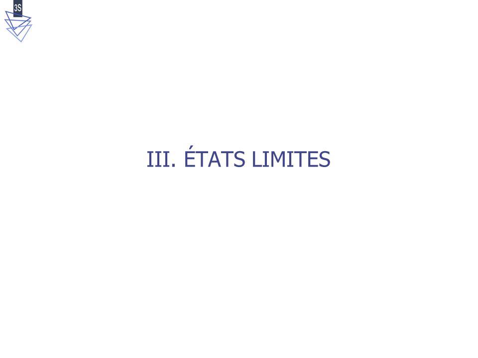 Intro/Dispositif/Mise au point/Essais/Etats limites/Rupture/Simulations/Conclusions n°25/42 trx500 trx200 trx50 trx100 trx650 Essais Triaxiaux k05 k02 k03 k035 k1 Essais Proportionnels trx200 trx50 trx100 trx650 CS k035 k03 k02 États limites triaxiaux et proportionnels transitions contraction-dilatation Surface seuil : indépendante du trajet de chargement Etats limites Seuils de contrainte :