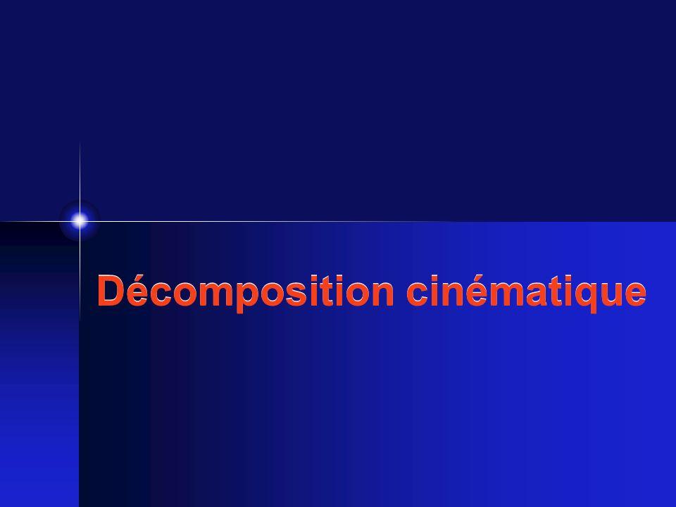 Décomposition cinématique