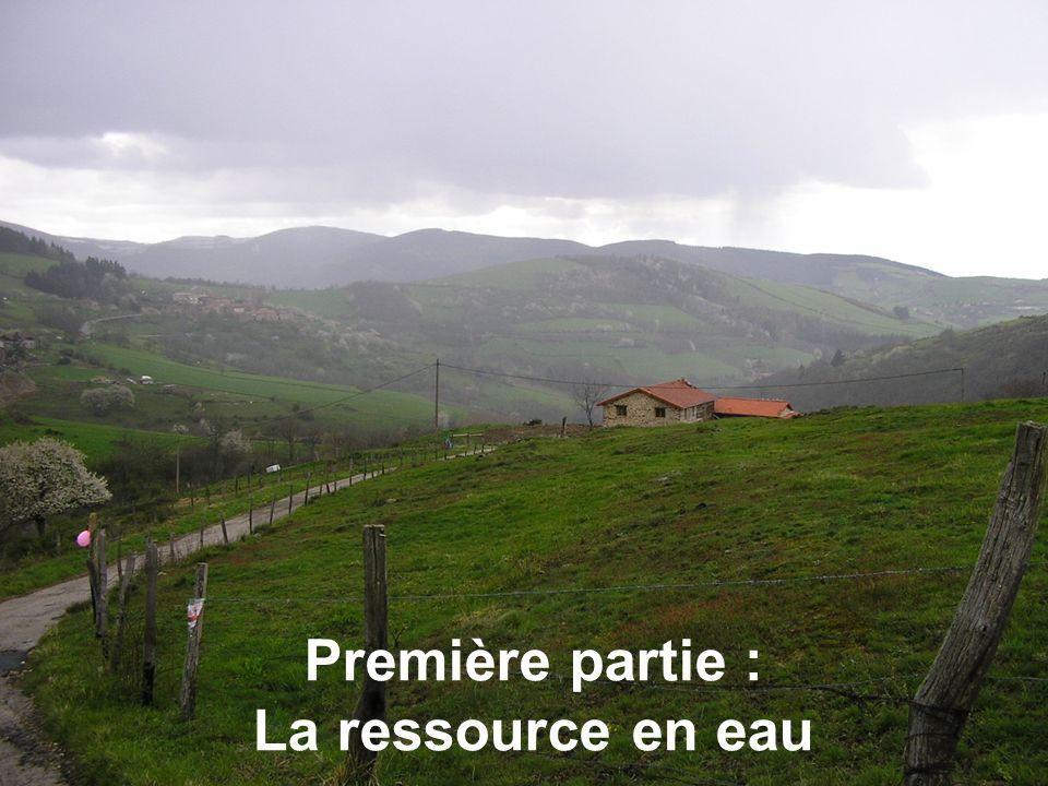 10 Première partie : La ressource en eau