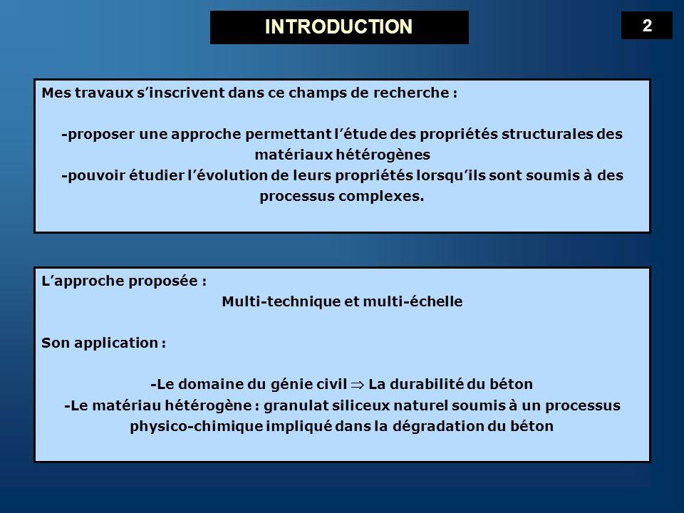 Plan de lexposé I- La Réaction Alcali-Silice (RAS) – le Granulat réactif II- La Première étape de la RAS III- Les Manifestations multi-échelle de la RAS CONCLUSIONS PERSPECTIVES 3