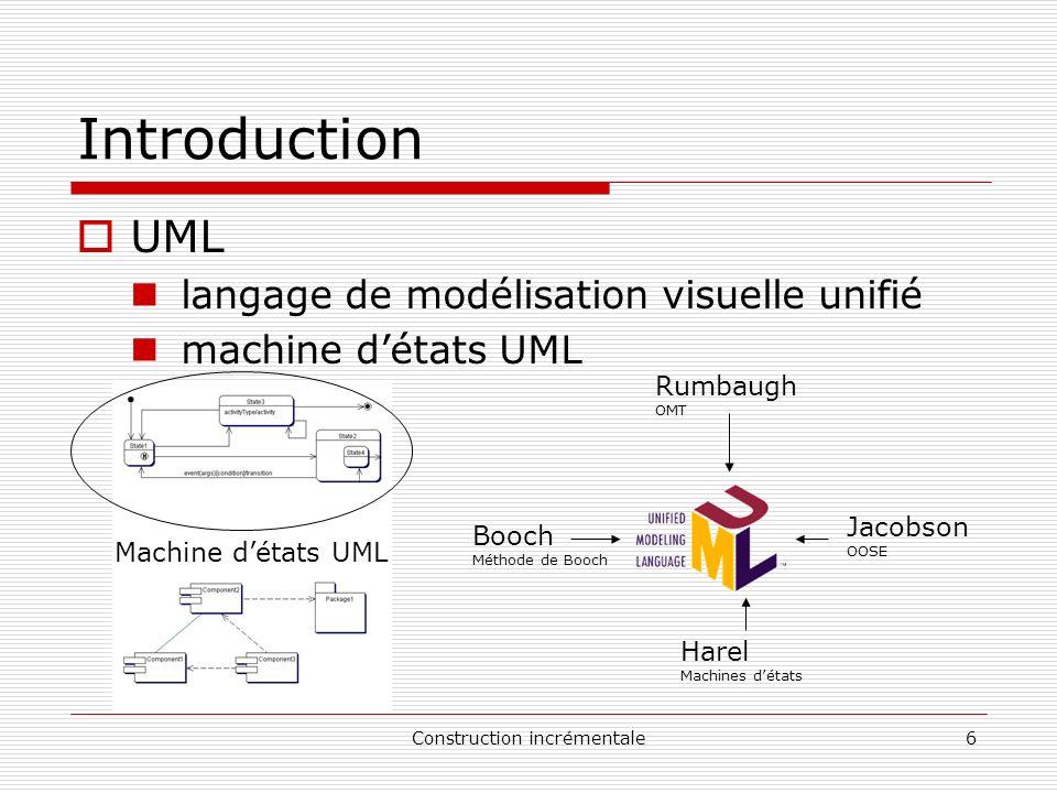 Construction incrémentale47 Exemple red* ext MachineAvecMaintenance MachineRéaliste MachineChoixMultiple MachineIndéterministe ct red* ext
