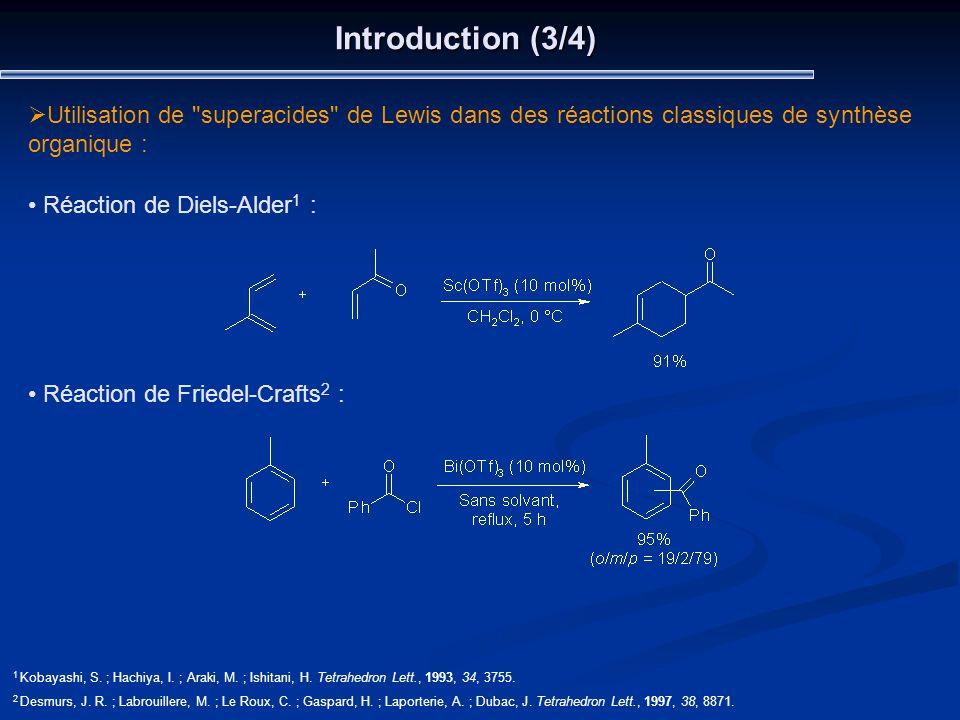Introduction (3/4) Utilisation de