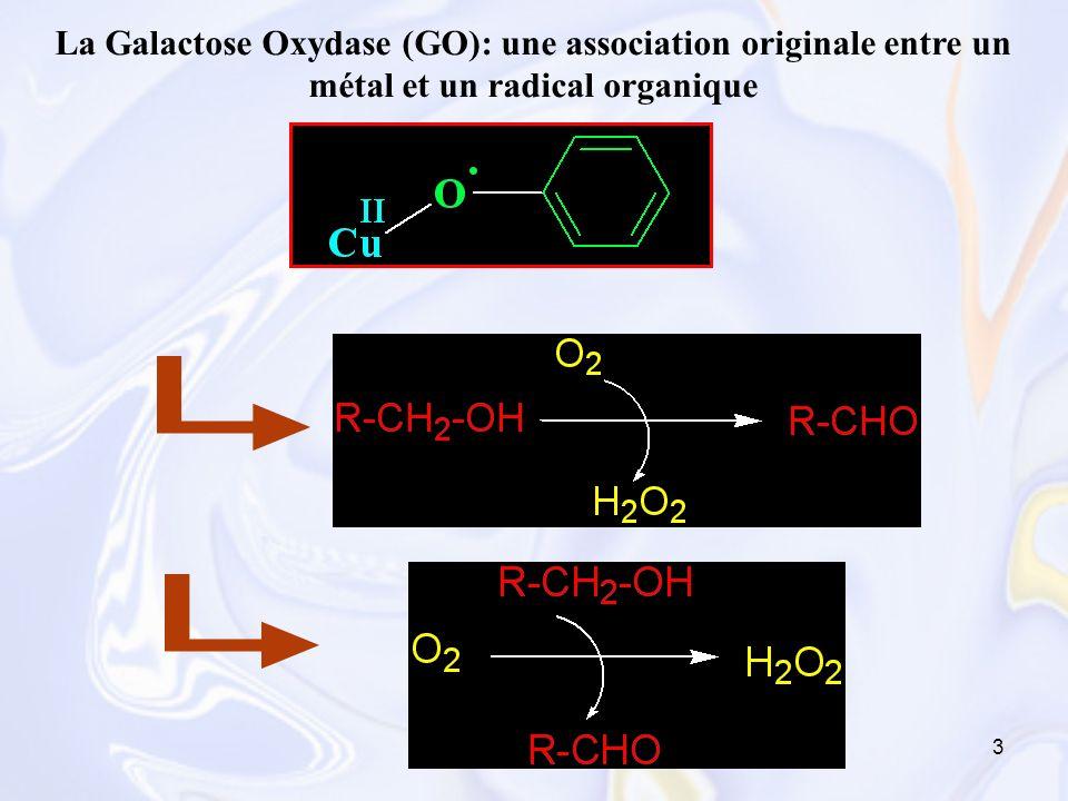 44 ppm 1520253035404550556065707580859095 10 100 1 0.75 0.5 0.25 0 0.05 = 49,0 = 53,7 eq Cu(II) Formation in situ du radical phénoxyle (CD 3 CN ; -35°C) Cu(II)Cu(I)