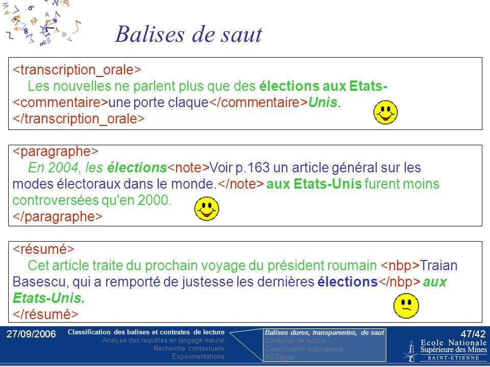 27/09/200646/42 Les élections aux Etats-Unis sont prévues pour l'année 2008. Les commentaires de Noam Chomsky au sujet des élections aux Etats-Unis. B