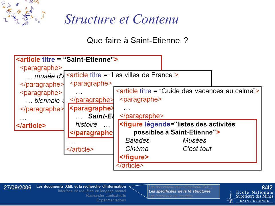 27/09/20067/42 Une figure montrant un sondage dans un article sur l'élection de 2007. En 2007, les Français éliront un nouveau président … … … Sarkozy