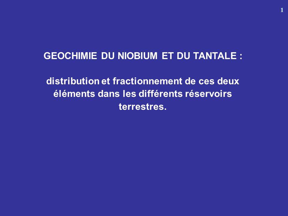 Pourquoi sintéresser au niobium et au tantale ? 2